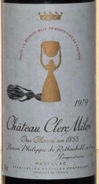 Chateau  Clerc Milon 1979 Pauillac