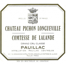 Chateau Pichon Lalande- La Reserve de La Comtesse 1993 Pauillac