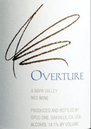 Opus One Overture (2019 release) 0 Napa Valley