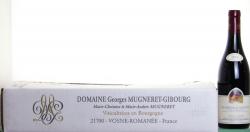 Domaine Mugneret Gibourg Chambolle Musigny 1er Cru Les Feusselots 2014 Cote de Nuits