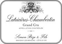 Domaine Simon Bize et Fils, Latricieres Chambertin Grand Cru 2015 Cote de Nuits