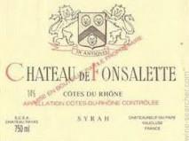 Rayas, Chateau de Fonsalette Cuvee Syrah 2004 Cotes du Rhone