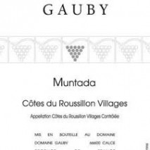 Domaine Gauby, IGP Cotes Catalanes Muntada 2016 Cotes du Roussillon Villages