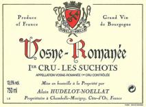 Domaine Hudelot Noellat Vosne-Romanee 1er Cru Les Suchots 2016 Cote de Nuits