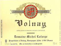 Domaine Michel Lafarge Volnay 2016 Cote de Beaune