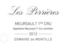 Domaine de Montille, Beaune 1er Cru Les Perrieres 2016 Cote de Beaune