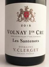 Domaine Yvon Clerget Volnay 1er Cru Santenots 2017 Cote de Beaune