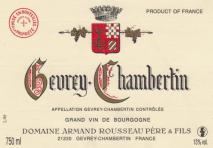 Domaine Armand Rousseau Pere et Fils, Gevrey-Chambertin 2011 Cote de Nuits