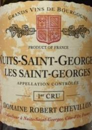 Domaine Robert Chevillon, Nuits-Saint-Georges 1er Cru Les Saint Georges 2017 Cote de Nuits