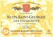Domaine Robert Chevillon, Nuits-Saint-Georges 1er Cru Les Chaignots 2017 Cote de Nuits