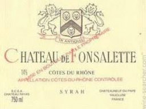 Rayas, Chateau de Fonsalette Cuvee Syrah 2005 Chateauneuf du Pape