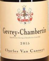 Charles Van Canneyt, Gevrey-Chambertin 2016 Cote de Nuits