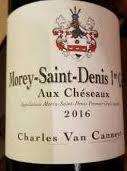 Charles Van Canneyt, Morey St Denis 1er Cru Aux Cheseaux 2016 Cote de Nuits