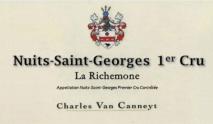Charles Van Canneyt, Nuits-Saint-Georges 1er Cru, La Richemone 2016 Cote de Nuits