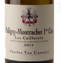 Charles Van Canneyt, Puligny-Montrachet 1er Cru Les Caillerets 2016 Cote de Nuits