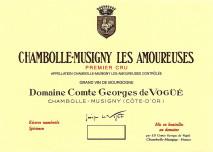 Domaine Comte Georges de Vogue, Chambolle-Musigny Les Amoureuses 2017 Cote de Nuits