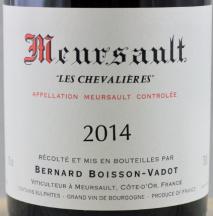 Domaine Bernard Boisson-Vadot, Meursault Les Chevalieres 2014 Cote de Beaune
