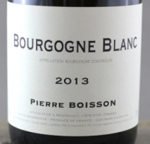 Domaine Pierre Boisson, Bourgogne Blanc 2017 Cote de Beaune