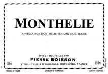 Domaine Pierre Boisson, Monthelie 2017 Cote de Beaune
