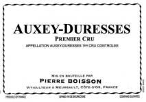 Domaine Pierre Boisson Auxey Duresses 1er Cru Rouge 2017 Cote de Beaune