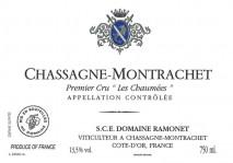 Domaine Ramonet Chassagne-Montrachet 1er Cru Chaumees 2017 Cote de Beaune