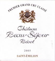 Chateau Beau-sejour Becot 2006 St Emilion