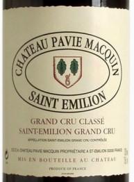 Chateau Pavie Macquin 2000 St Emilion