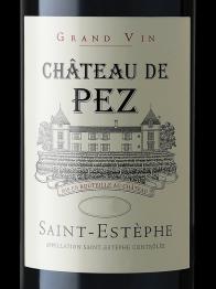 Chateau de Pez 2009 St Estephe