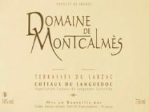 Domaine de Montcalmes Terrasses du Larzac 2012 Languedoc