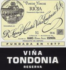 Lopez de Heredia Tondonia Reserva 2006 Rioja