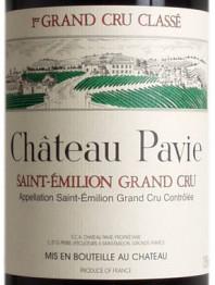 Chateau Pavie 1979 St Emilion