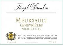 Joseph Drouhin, Meursault 1er Cru Les Genevrieres 2018 Cote de Beaune