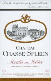 Chateau Chasse Spleen 2016 Moulis