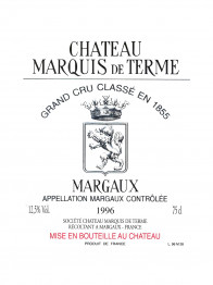 Chateau Marquis de Terme 2016 Margaux