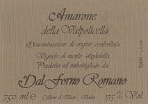 Dal Forno Romano Vigneto Monte Lodoletta, Amarone della Valpolicella 2013 Amarone della Valpolicella