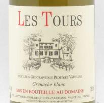 Emmanuel Reynaud, Domaine des Tours, Les Tours Grenache Blanc, IGP Vaucluse 2015 IGP Vaucluse
