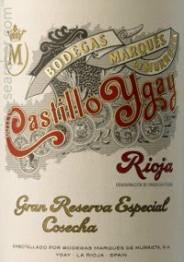 Marques de Murrieta Castillo Ygay Gran Reserva Especial 2010 Rioja