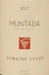 Domaine Gauby, IGP Cotes Catalanes Muntada 2017 Cotes du Roussillon Villages
