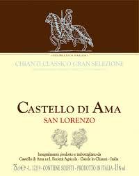 Castello di Ama, Gran Selezione San Lorenzo 2016 Tuscany
