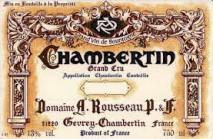 Domaine Armand Rousseau Pere et Fils, Chambertin 2017 Cote de Nuits