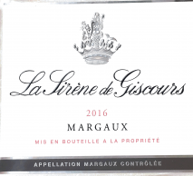La Sirene de Giscours 2014 Margaux