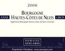 Domaine Anne Gros Bourgogne Rouge Hautes Cotes de Nuits 2018 Bourgogne