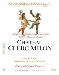 Chateau  Clerc Milon 2019 Pauillac