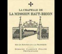 La Chapelle Mission Haut Brion 2019 Pessac Leognan