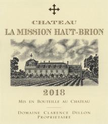 Chateau La Mission Haut Brion Blanc 2019 Pessac Leognan