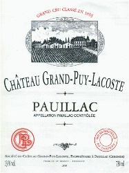 Chateau Grand Puy Lacoste 2019 Pauillac