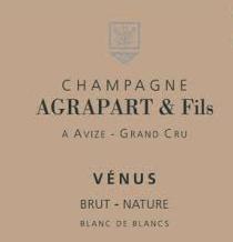 Agrapart Venus Brut Nature Blanc de Blanc 2009 Champagne