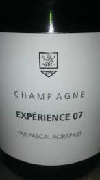 Agrapart Brut Nature Blanc de Blanc EXPERIENCE 2007 Champagne