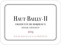 Chateau Haut Bailly II (La Parde) 2019 Pessac Leognan