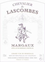 Chevalier de Lascombes 2019 Margaux